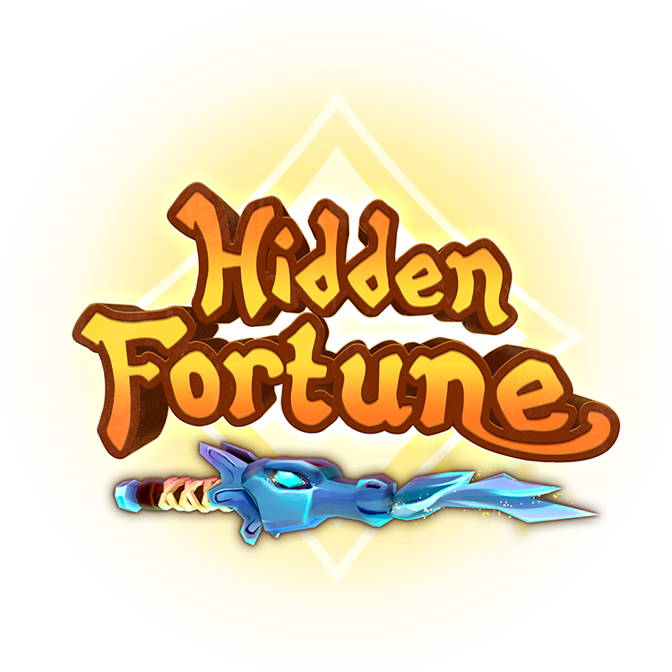 logo hidden fortune vr virtual reality game gold dragon wand